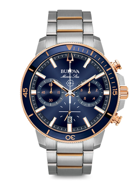 98B301 Men's Marine Star Chronograph Watch