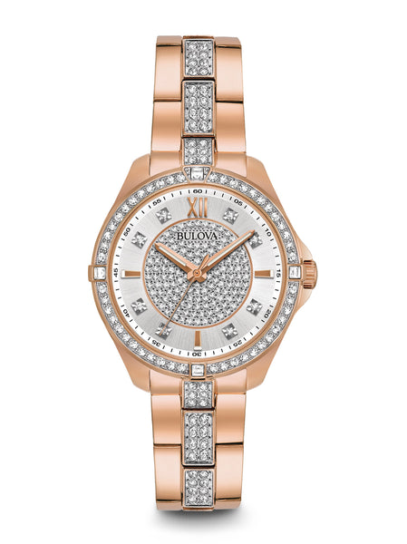 98L229 Women's Crystal Watch