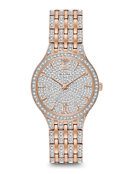 98L235 Women's Crystal Watch