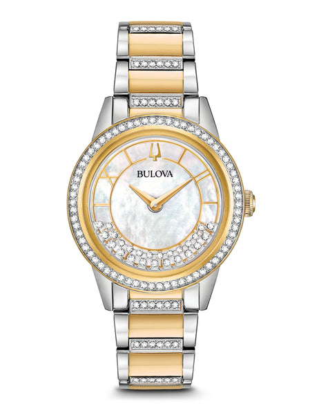 98L245 Women's Crystals TurnStyle Watch