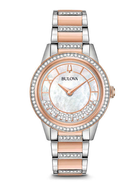 98L246 Women's Crystal TurnStyle Watch