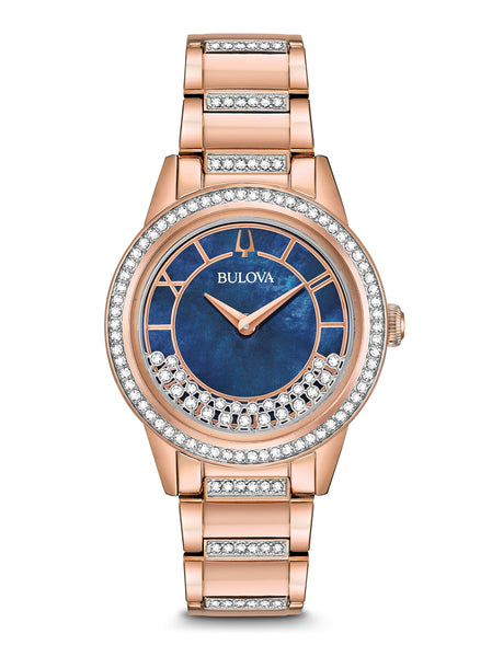 98L247 Women's Crystals TurnStyle Watch