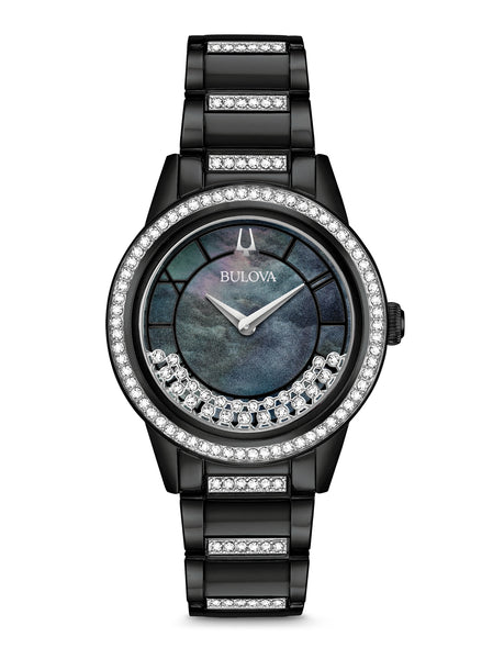 98L252 Women's Crystal TurnStyle Watch