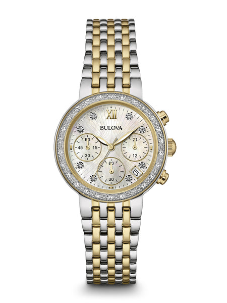 Bulova 98R214 Women's Chronograph Watch
