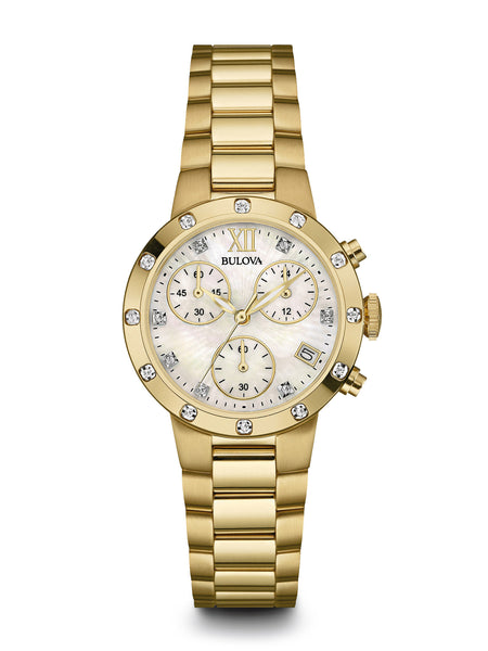 Bulova 98R216 Women's Chronograph Watch