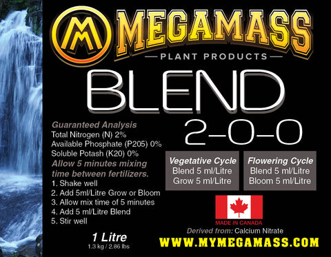 Mega Mass - Blend, Mega Mass Plant Products, IncrediGrow, IncrediGrow - Grow, Cannabis, Microgreens, Fertilizer, Calgary, Airdrie, Quickgrow, Amazing, Ecolighting,