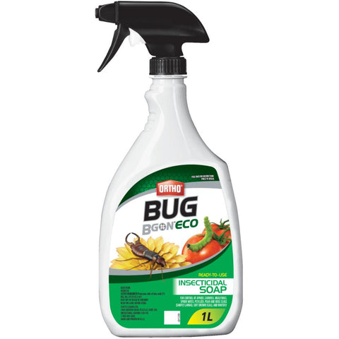 Ortho Bug B Gon ECO Insecticidal Soap Ready-To-Use 1L (Green Label)