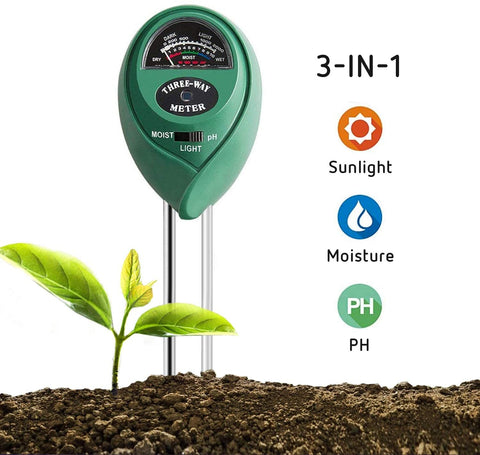 3-in-One Soil Meter