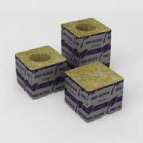 "DELTA 4G 42/40 3x3x2.5""WRAPPED BLOCK, Rockwool, IncrediGrow, IncrediGrow - IncrediGrow"
