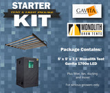 Starter Kit: LED IncrediPackage - Monolith 5 x 5 feat. Gavita 1700e!