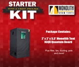 Starter Kit: 2 x 2 LED Monolith Tent Package