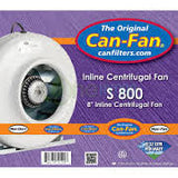 Can-Fan S800 Inline Fan, Fans, Ducting & Air Purification, IncrediGrow, IncrediGrow - IncrediGrow