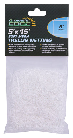 "Soft Mesh Trellis Netting (6"" Spacing)"