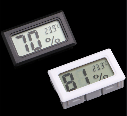 Mini Thermometer Hygrometer Digital LCD Monitor