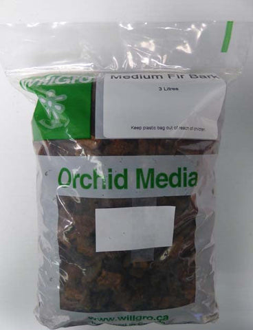 Medium Fir Bark Orchid Media 3L, Propagation & Growing Mediums, IncrediGrow, IncrediGrow - IncrediGrow