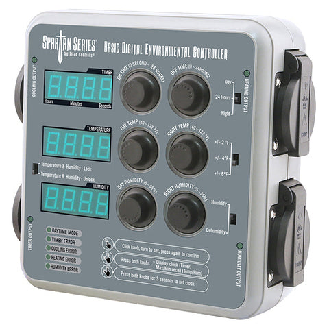 Titan Controls - Basic Digital Environmental Controller