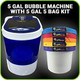 BubbleBagDude: 5 Gal Bubble Machine w/5 Gal Bag Kit ALL MESH