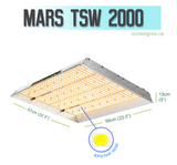 Mars TSW 2000 LED Grow Light (3x3)