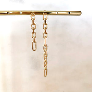 Monaco Link Chain Earrings