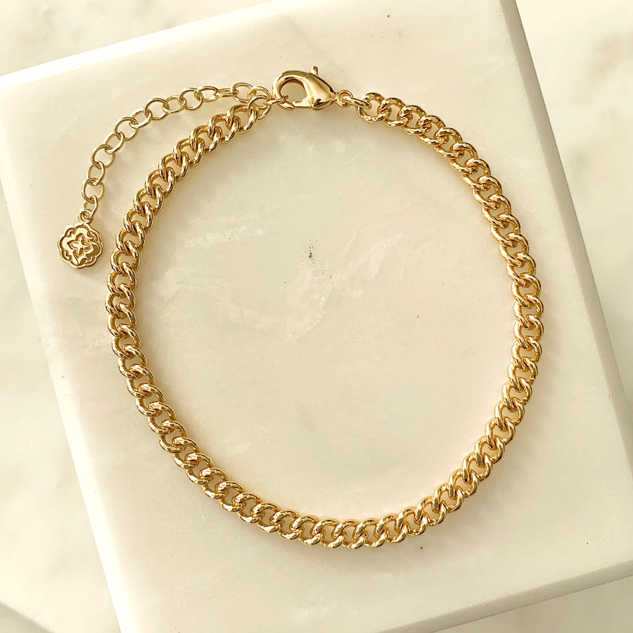 Kate Curb Chain Bracelet