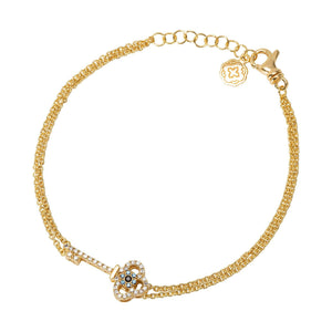 Key Chain Bracelet - Gold-Goldoni Milano