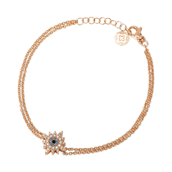 Sun Chain Bracelet - Rose Gold - Goldoni Milano