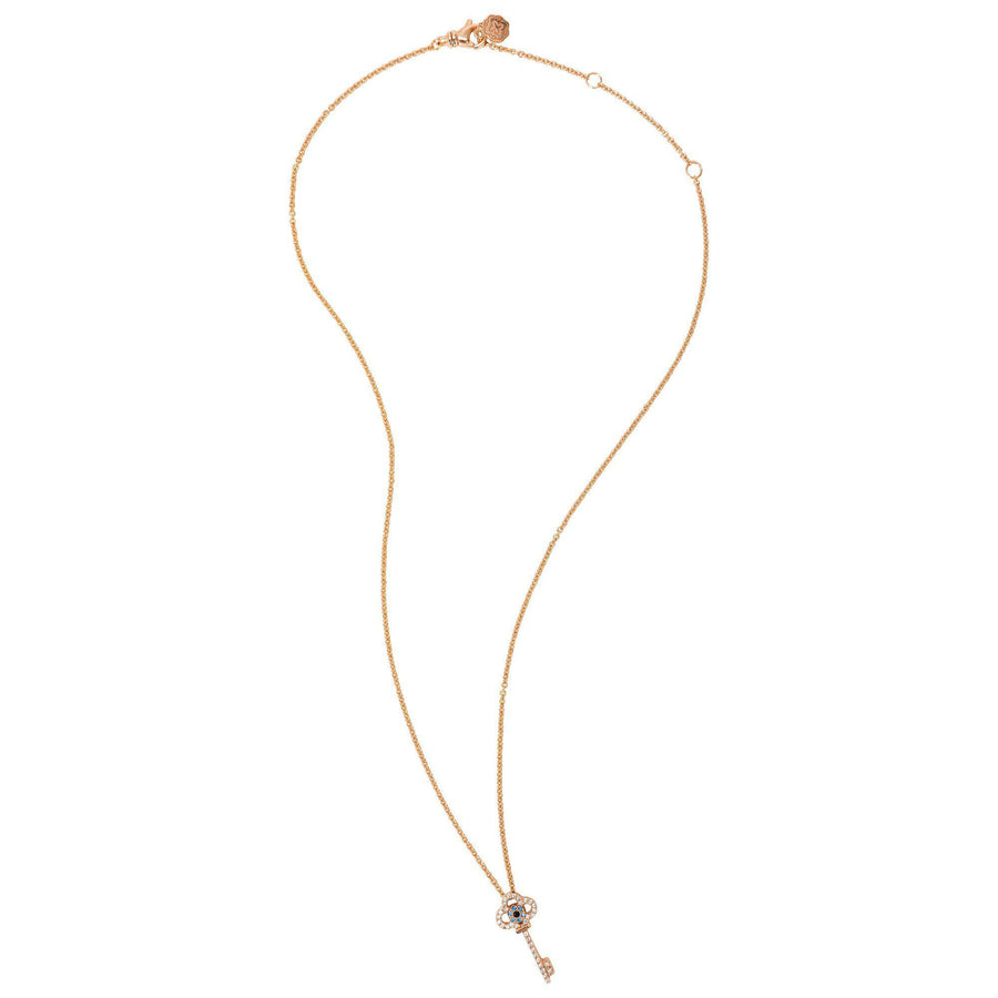 Key Necklace - Rose Gold - Goldoni Milano