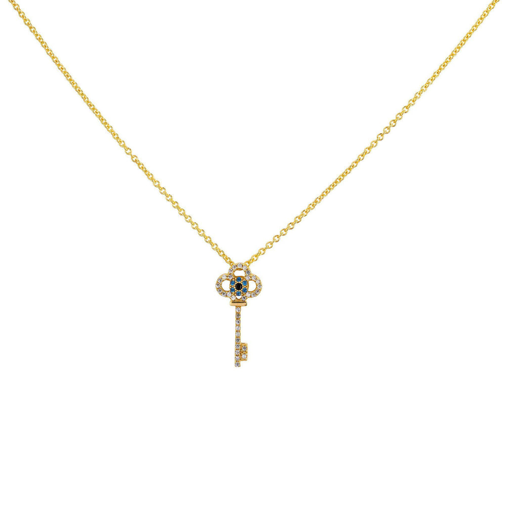 Key Necklace - Gold - Goldoni Milano