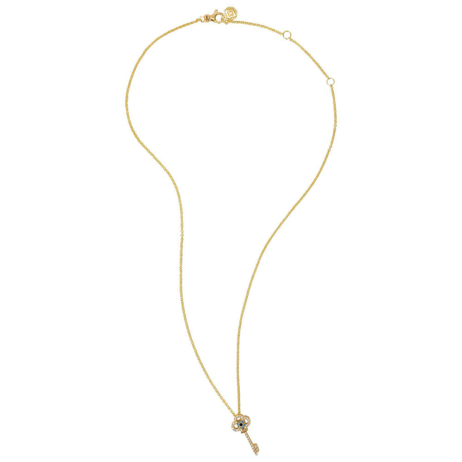 Key Necklace - Gold-Goldoni Milano