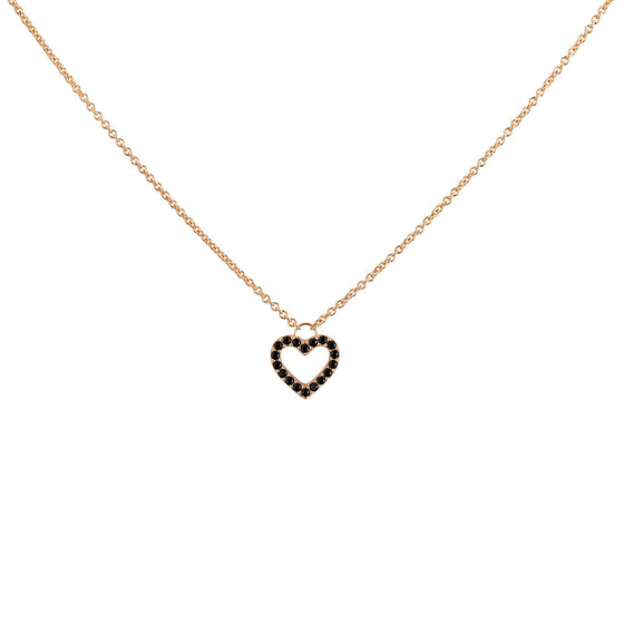 Heart Necklace - Rose Gold - Goldoni Milano