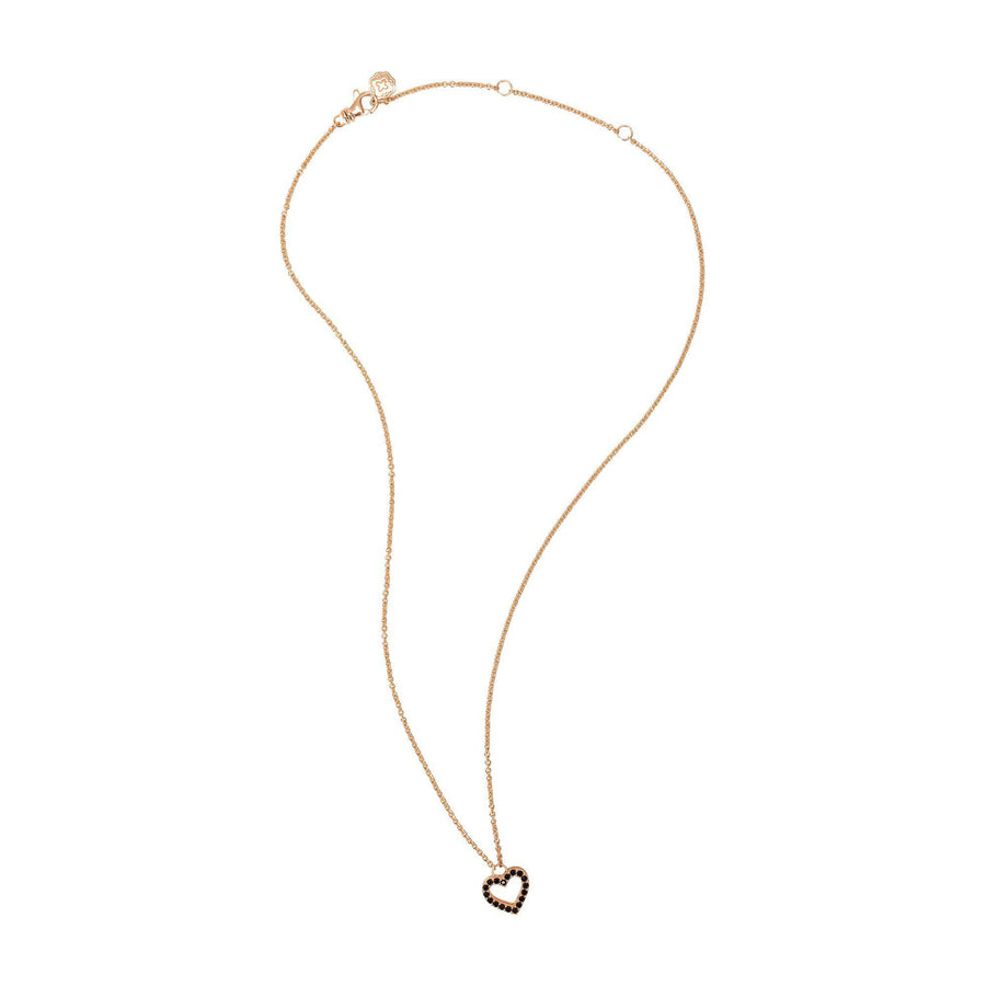 Heart Necklace - Rose Gold-Goldoni Milano