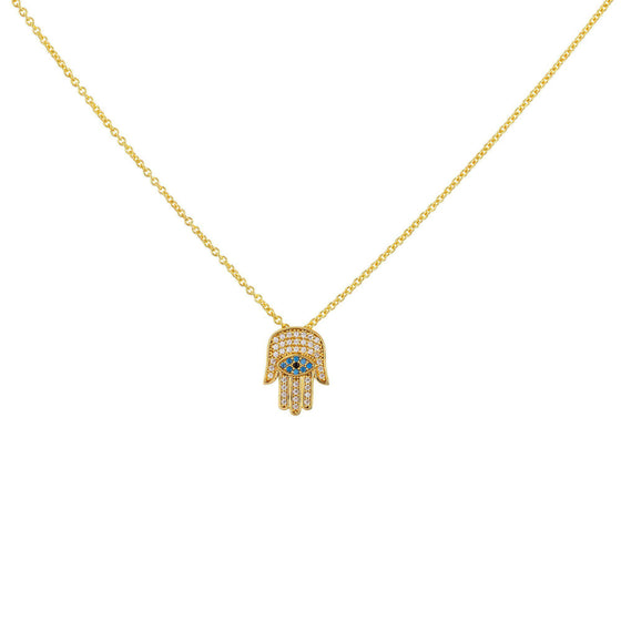 Hamsa Necklace - Gold - Goldoni Milano