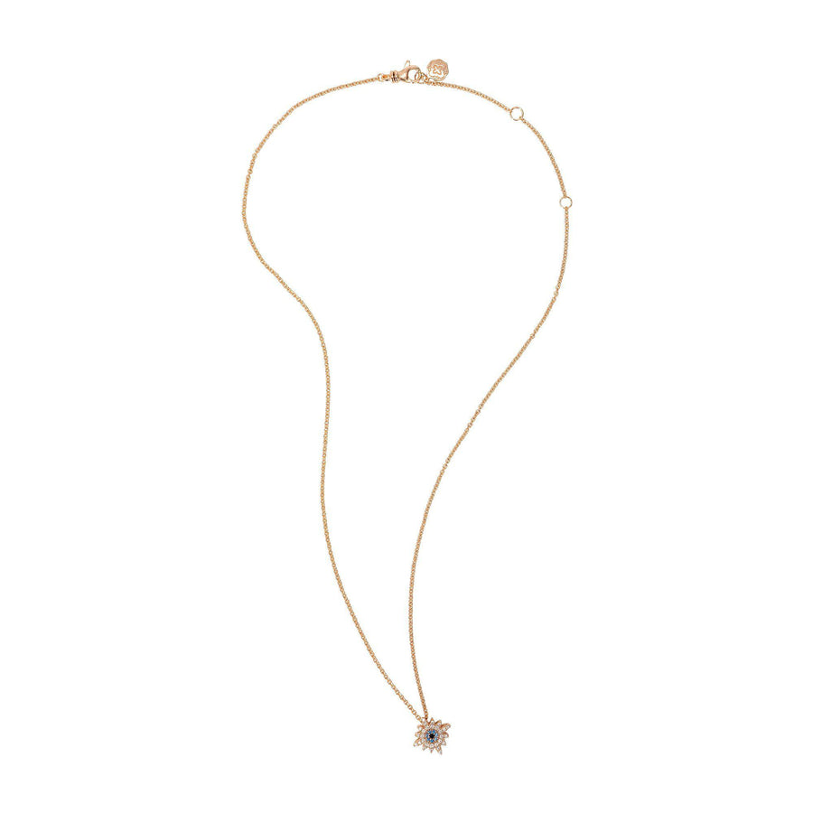 Sun Necklace - Rose Gold-Goldoni Milano
