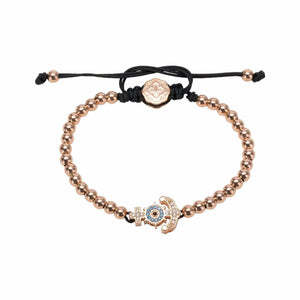 Anchor Bracelet - Rose Gold-Goldoni Milano