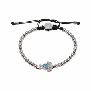 Anchor Bracelet - Rhodium-Goldoni Milano