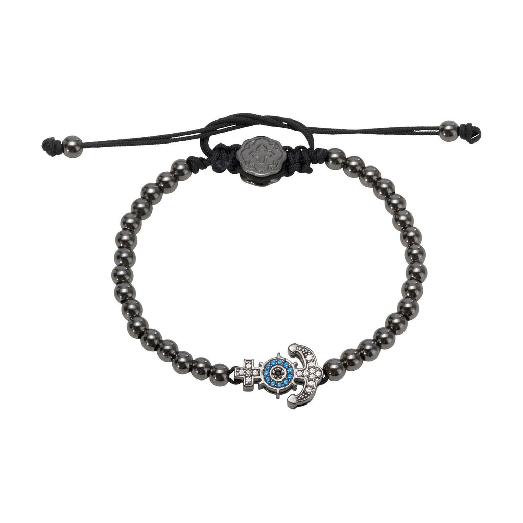 Anchor Bracelet - Ruthenium - Goldoni Milano