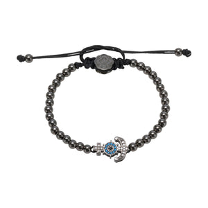 Anchor Bracelet - Ruthenium-Goldoni Milano