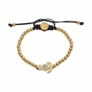Anchor Bracelet - Gold-Goldoni Milano