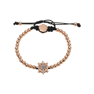Ship Wheel Bracelet - Rose Gold - Goldoni Milano