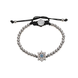 Ship Wheel Bracelet - Rhodium-Goldoni Milano