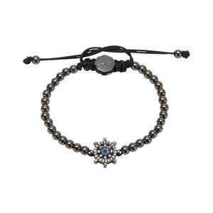 Ship Wheel Bracelet - Ruthenium - Goldoni Milano