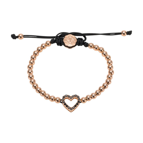 Heart Bracelet - Rose Gold - Goldoni Milano
