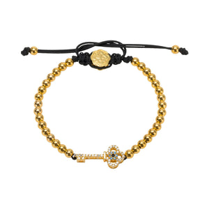 Key Bracelet - Gold-Goldoni Milano