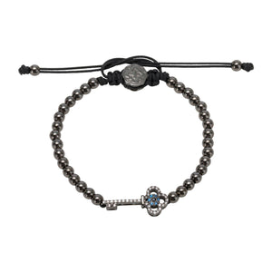 Key Bracelet - Ruthenium-Goldoni Milano