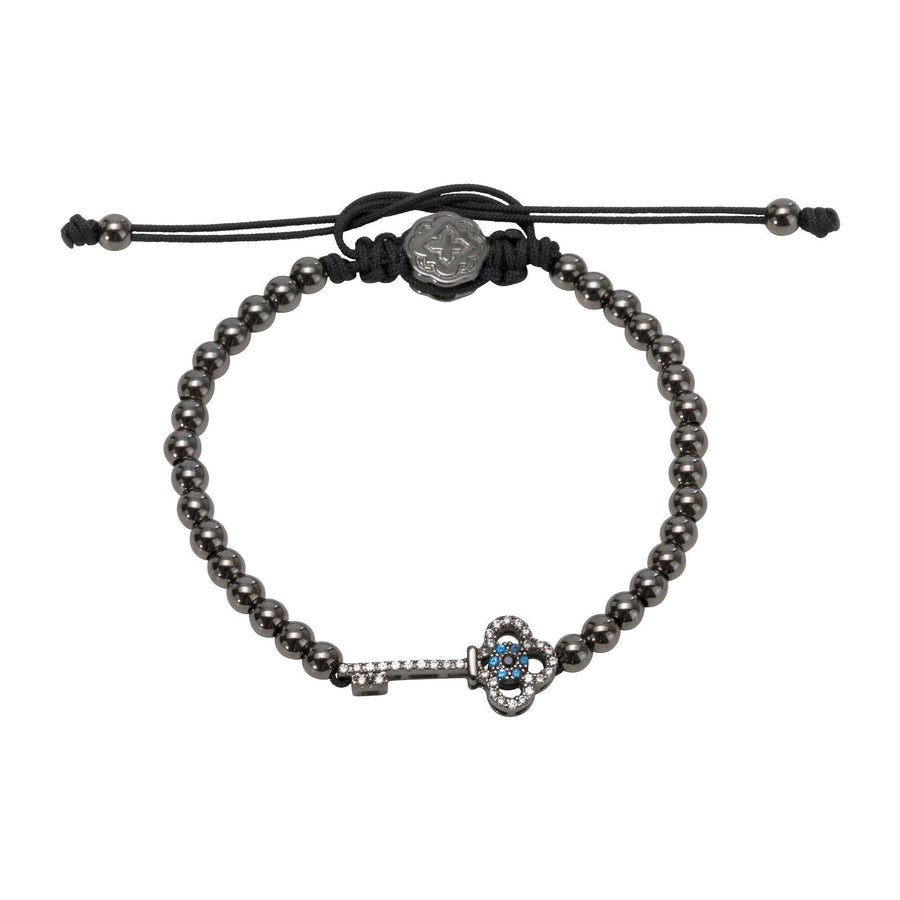 Key Bracelet - Ruthenium - Goldoni Milano