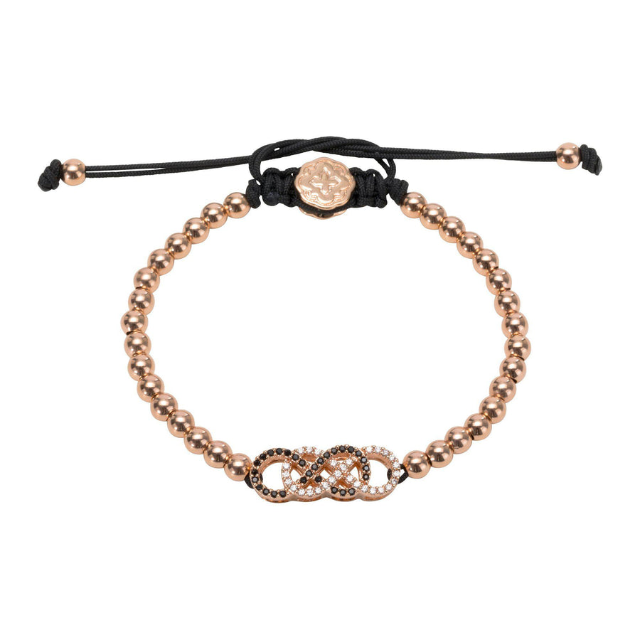 Double Infinity Bracelet - Rose Gold - Goldoni Milano