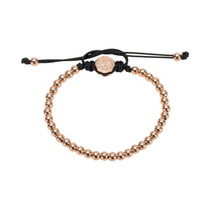 Full Mini Ball Bracelet - Rose Gold-Goldoni Milano