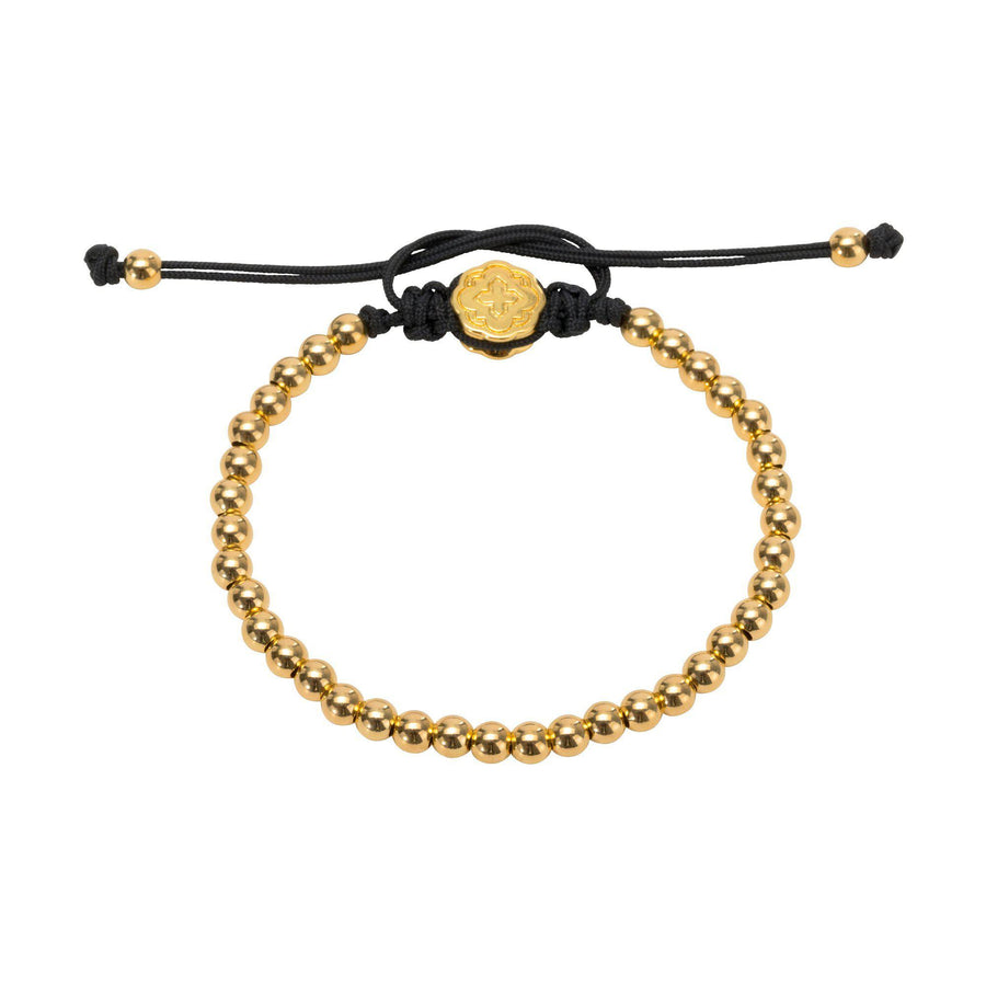 Full Mini Ball Bracelet - Gold-Goldoni Milano