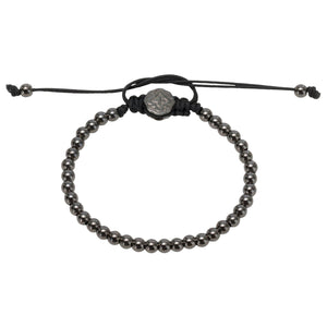 Full Mini Ball Bracelet - Ruthenium-Goldoni Milano