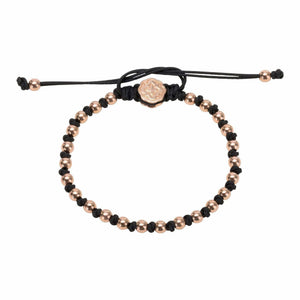 Alternated Mini Ball Bracelet - Rose Gold - Goldoni Milano